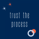 trust the process graphic